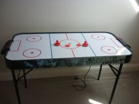Air slammers table and accessories - £20