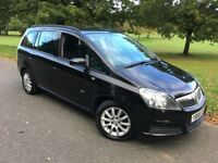 2006 Vauxhall Zafira 1.6 i 16v Club 7 Seats +++ IDEAL FAMILY CAR +++