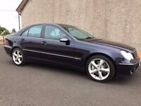 2006 Mercedes C220 CDI Avantgarde Automatic with low miles