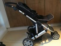 Mama's and Papa's Zoom Pushchair and Carry Cot