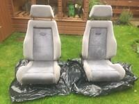 Ford escort rs Turbo seats