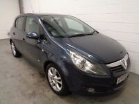 VAUXHALL CORSA , 2009 REG , ONLY 45000 MILES + FULL HISTORY , YEARS MOT, FINANCE AVAILABLE, WARRANTY