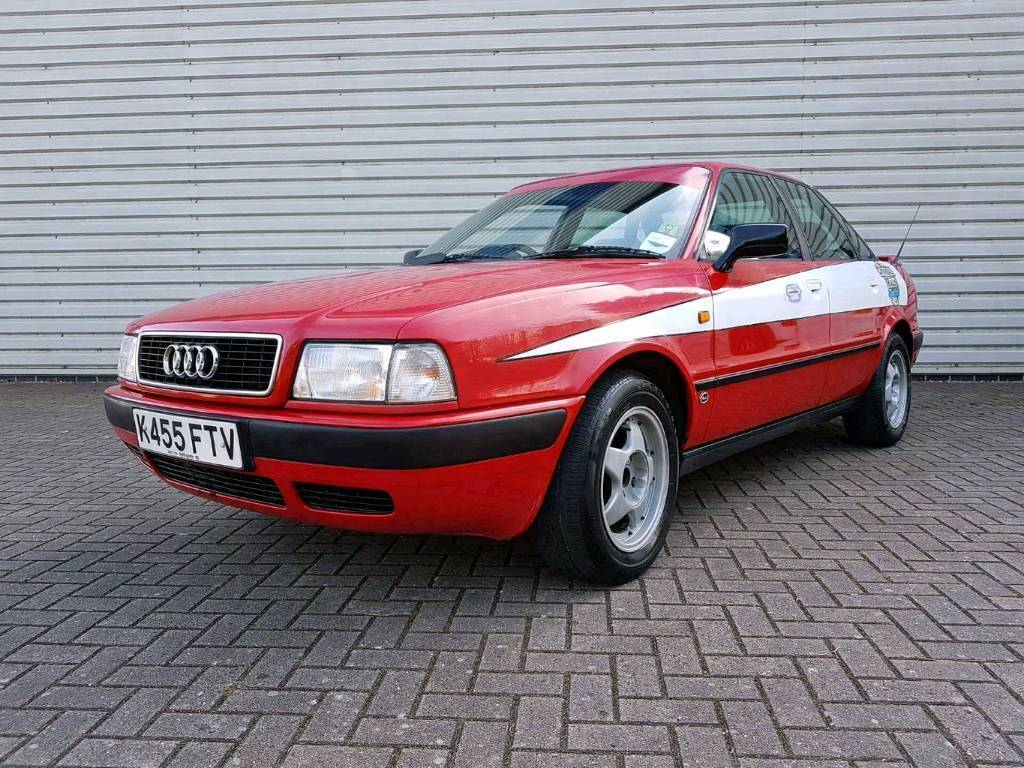 Audi 80 2.0E classic car used in Crumball Rally | in Coventry ...