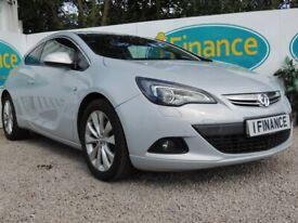 Vauxhall ASTRA GTC, 2013, Manual, 1364 (cc) - £42 PER WEEK - CAR IS £5995