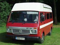 Volkswagen LT31 LWB Campervan.
