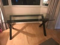 Large dining table very heavy, chairs also for sale to make a set