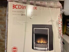 Dimplex Detroit free standing Electric fire