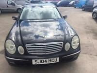2004 Mercedes e220 cdi. turbo diesel. Long mot luxury motoring.