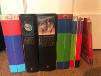 Harry Potter books 1-7