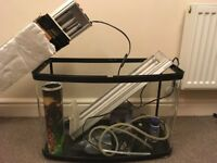Fish tank and accessories including Boyu STS-600 (everything you need for a set up)