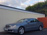2004 MERCEDES E270 CDI AUTO BLUE NATIONWIDE DELIVERY, WARRANTY, MINIMUM £200 PART EX, BARGAIN PRICE,