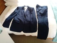 Worn once men's two piece slim fitting suit from Debenham's