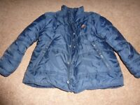 Boys Fat Face Puffa Coat Aged 6-7