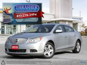 2010 Buick LaCrosse CX, Remote Start, Power Seat, And More!