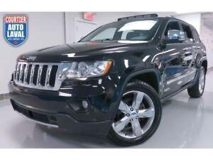 2011 Jeep Grand Cherokee Limited AWD - NAV - CAM - CUIR - DVD