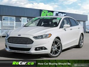 2015 Ford Fusion Titanium AWD | HEATED LEATHER | NAV | SUNROOF