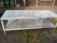 Welders / Assembly workers steel bench