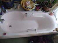 Rare retro powder pink Ideal Standard 5 piece bathroom suite