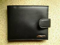 Black leather Mark's & Spencers wallet