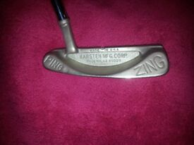 """Ping Zing Putter 34"""" - Original Model in Very Good Condition"""