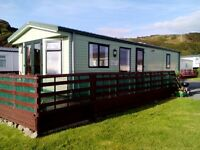 Static Caravan DG CH for sale 2008 Willerby Salisbury front line Uninterrupted sea views