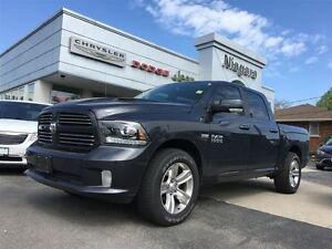 2017 Ram 1500 SPORT,NAV,20'S,AIR SUSPENSION,SUNROOF JAMMED!