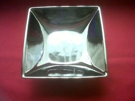 Beautiful Square Mirror Effect Pot Pourri Dish