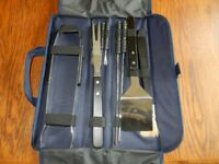 New BBQ Tool set in a carry case - great for away from home BBQ's