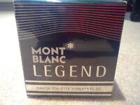 Brand new & sealed Montblanc Legend Eau de Toilette 30ml