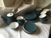 Poole Pottery Tea set and plates