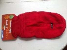 Ancol Cable Knit Dog Jumper- small BNIB