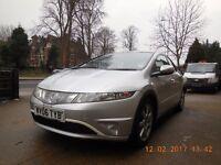 Honda Civic 1.4DSI Petrol-LPG Manual 6 Speed