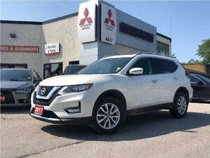 2017 Nissan Rogue SV, 4WD, Bluetooth, Pano Roof, Rear Cam