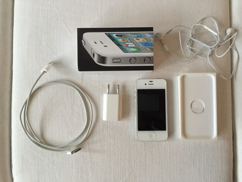 apple iphone 4 16gb wei simlock frei in berlin. Black Bedroom Furniture Sets. Home Design Ideas