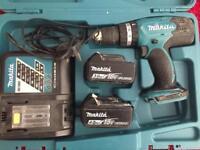 Makita 18v hammer drill driver