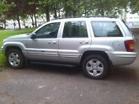 jeep grand chereoke 2.7 turbo diesel automatic 2004 04 plate