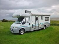 Nice clean Autocruise Chamois Motorhome for sale , non smokers and no pets