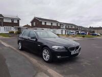 2011 BMW 520D SE TOURING,MANUAL,1 OWNER FROM NEW ,LEATHER SEATS,ADAPTIVE BI XENON LIGHTS,07522564844