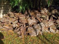 Kindling Logs - Bark for burning