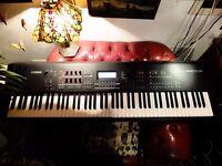 Yahama MOX8 Keyboard Synthesizer Music Production Workstation