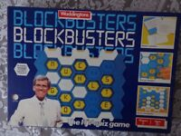 BLOCKBUSTERS BOARD GAME - WADDINGTONS - VINTAGE