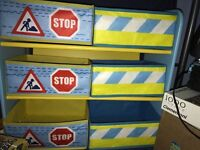 Boys toy storage