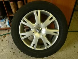 Spare wheel for 2009 VW Touareg 2.5 tdi with separate brand new tyre