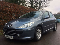 **FULL SERVICE HISTORY**2007 Peugeot 307 1.4 S*with MOT**CHEAP ON INSURANCE**