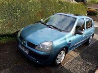 2005 Renault Clio 1.4 16v Expression 5dr