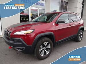 2015 Jeep Cherokee TRAILHAWK - CUIR - GPS - TOIT PANO. - ASSISTA