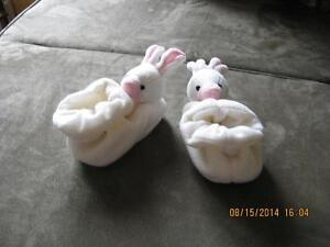 Simply Adorable Bunny Slippers for baby
