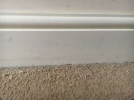 Skirting board (2 x 2m) and architrave (4 x 2m)