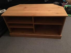 Pine tv stand/ unit