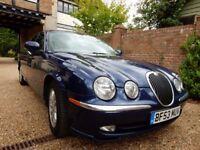 2003 Jaguar S Type SE 3.0 V6 Petrol Automatic Pacific Blue Metallic
